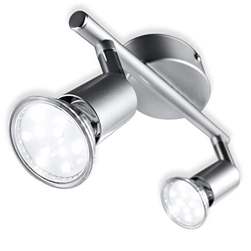 B.K.Licht I LED Deckenleuchte I Bild