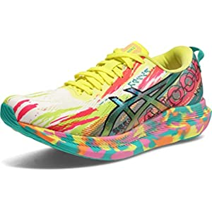 ASICS Women's Noosa Tri 13 Running Shoes, 9, HOT Pink/Sour Yuzu