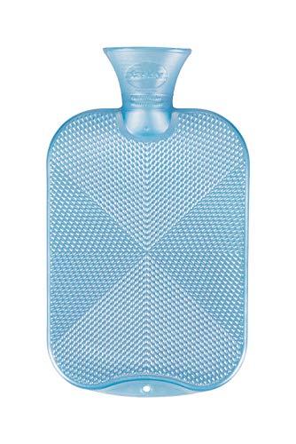 Fashy Bouillotte Texture nervurée Bleu clair 2 l