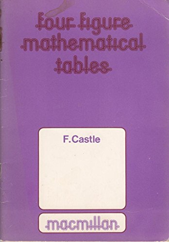 Four Figure Mathematical Tables