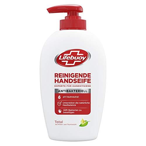 Lifebuoy Flüssigseife (zur Handreinigung hilft Bakterien zu beseitigen mit Pinien-und Thymianduft), 1 Pumpspender (1 x 250 ml)