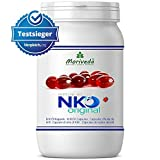 NKO Krillöl Kapseln (Testsieger) 30, 90 oder 270 Stk. in Apothekenqualität - Omega 3,6,9 Astaxanthin, Vitamin E, Choline, Phospholipide, Krill Öl (90 Softgels)