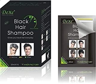 Dexe Black Hair Unisex Shampoo, 5 minutes Only