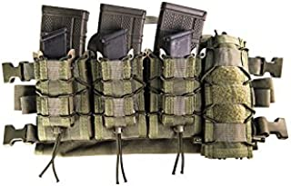 HSGI: HSG Quick Response Chest Combo - BLACK - 1 AO Rig, 3 Double Decker TACO's, & 1 NOLATAC M3T