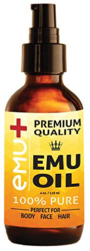 Premium Quality Emu Oil for Hair Growth, Grade