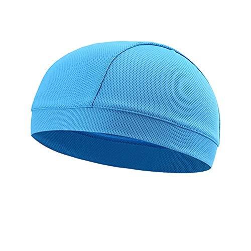 SANKANG Transpirable Ciclismo interior de malla Caps casco debajo del casco de...