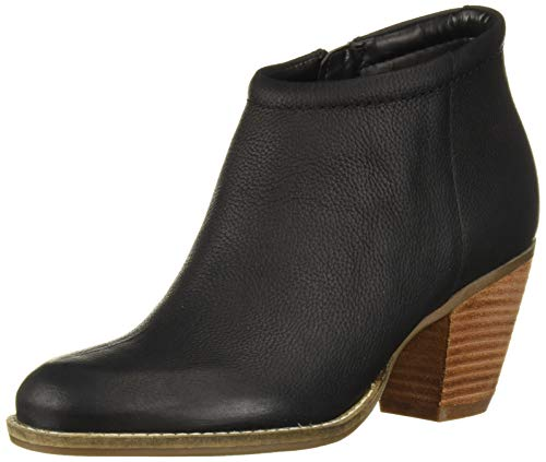 Cole Haan Women's Prynne Bootie (70Mm) Ankle Boot, Black Leather, 8 B US