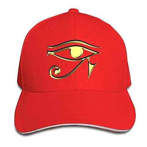 winterwang Gorras de béisbol Ajustables Egipcio Ibis Ankh Horus Eye Unisex Sombreros Sandwich Cap Unisex