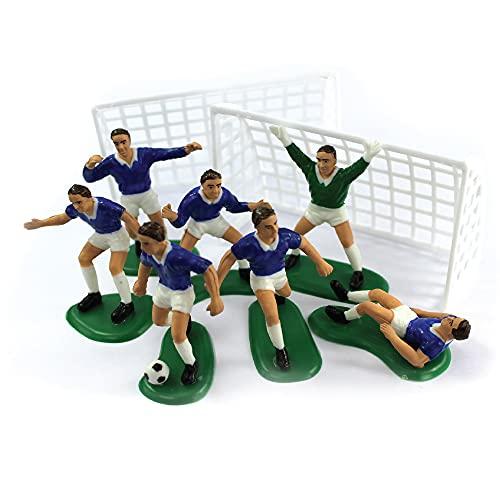 Anniversary House Tortendeko Set Fußball blau Polystyrol M512