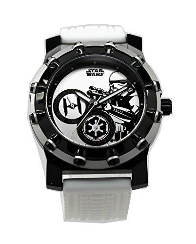 Stormtrooper Galactic Empire edición limitada de acero inoxidable reloj exclusivo (stm1146)