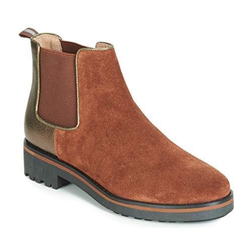 Karston ONKIX Bottines/Boots Femmes Marron - 36 - Boots