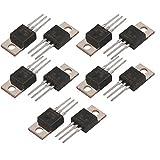 10 pz Nuovo L7806CV L7806 LM7806 ST TO-220 Regolatore di tensione , 6V 1.5A A + Stabiliz...