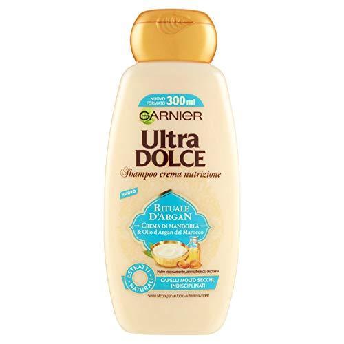 Ultra Dolce - almond cream and argan oil shampoo 300 ml