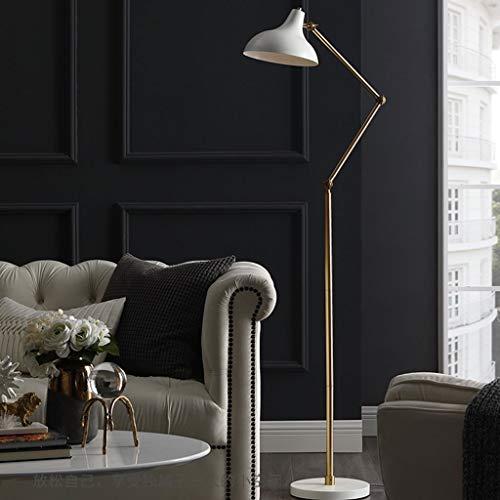 Vloerlamp Moderne eenvoudige ijzeren boog afstandsbediening dimbare zwarte verticale lamp 9 W warm licht leesende verticale lamp besturing LED, voor thuis slaapkamer woonkamer studie M20-02-15