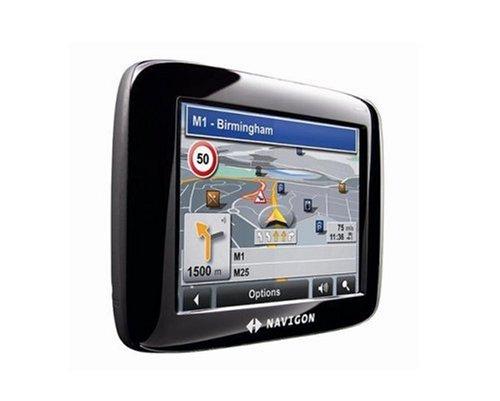 Navigon 2110 W-Europe Navigationssystem schwarz TMC