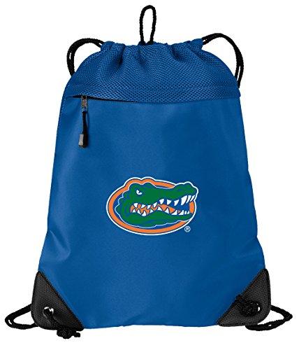 OFFICIAL University of Florida Drawstring Backpack Florida Gators Cinch Bag - COOL MESH & MICROFIBER