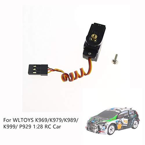 Dapei Digital Metal Gear High Torque Servo für WLTOYS 1/28 K969/K979/K989/K999/ P929 RC Car RC AutoModell Aufgerüstet Elektronische Drehzahlregler Ersatzteile Zubehör Lenkgetriebe