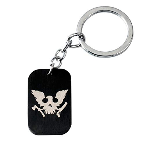 WZLDP State Of Decay 2 Stainless Steel Keychain-Small Gift Keychain