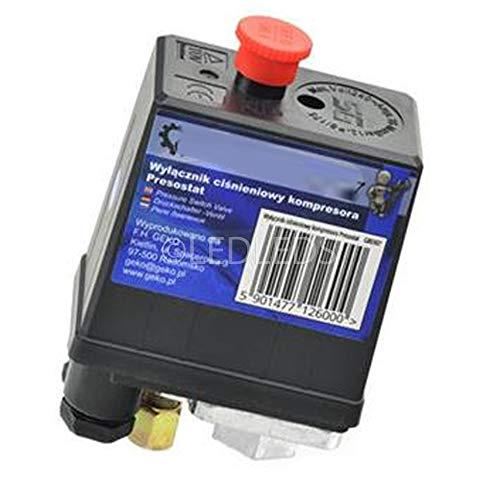 Pressostato Compressore Monofase 1 via 12 BAR max idoneo xFini Airmec Abac...