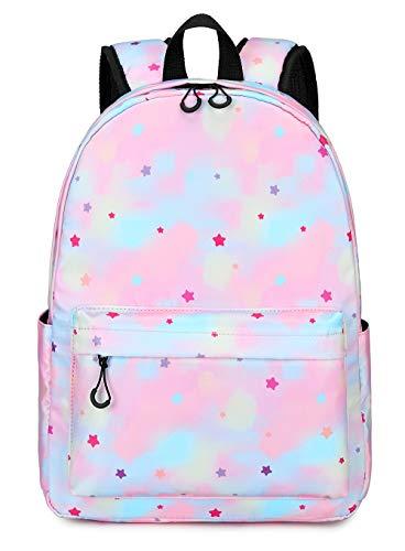Toddler backpack Girls schoolbag Preschool Backpack Litter Kids Kindergarten Bookbag Elementary (Pink Star)