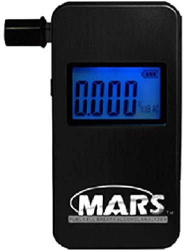 Best Breathalyzer-Portable Alcohol Breath Tester-Measures Blood Alcohol Content-Personal Blood Alcohol Tester-Digital BAC Display in Seconds-Accurate Professional Standard Alcohol Detector-Avoid DUI