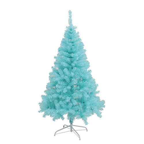 Topashe Material PVC Árbol de Navidad Artificial Acebo Natural,Árbol de Navidad Azul...