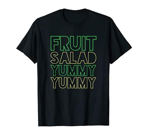 FRUIT SALAD YUMMY NEON T SHIRT T-Shirt