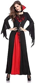 LDSSP Costumi di Halloween Sexy per Adulti per Adulti Costumi da Vampiro Abito da Sera Strega Costumi Femminili Zombie Uni...