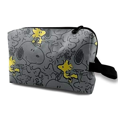 Neceser bolsa de viaje Cool Snoopy maquillaje bolsa para mujeres y niñas