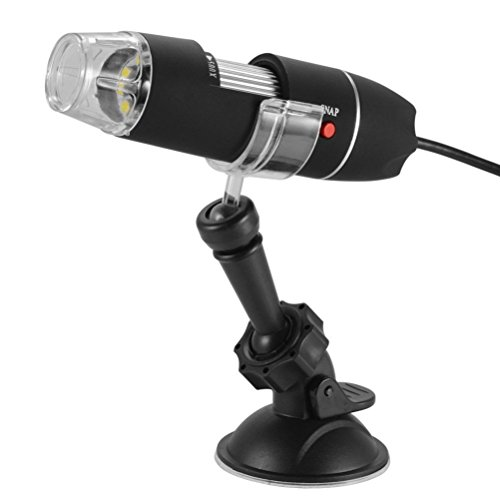 USB digitale microscoop 200 x HDTV kleur elektronisch draagbare zoom endoscoop PC videocamera met houder