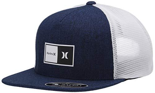 Hurley M Natural 2.0 Trucker Hat Gorra, Hombre, Obsidian, 1SIZE