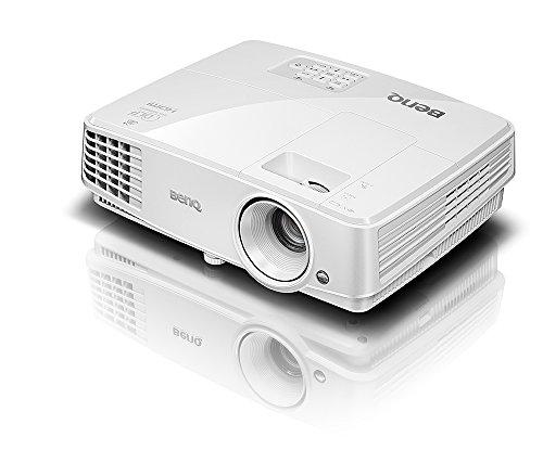 BenQ DLP Video Projector - WXGA Display, 3200 Lumens, 13,000:1 Contrast, HDMI, 3D-Ready Projector (MW526)