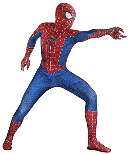 Riekinc Unisex Lycra Spandex Zentai Halloween Cosplay Costumes Adult/Kids 3D Style