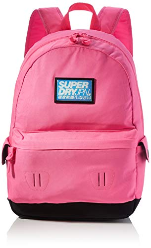 Superdry Womens CUBA MONTANA Rucksack, Neon Pink, OS