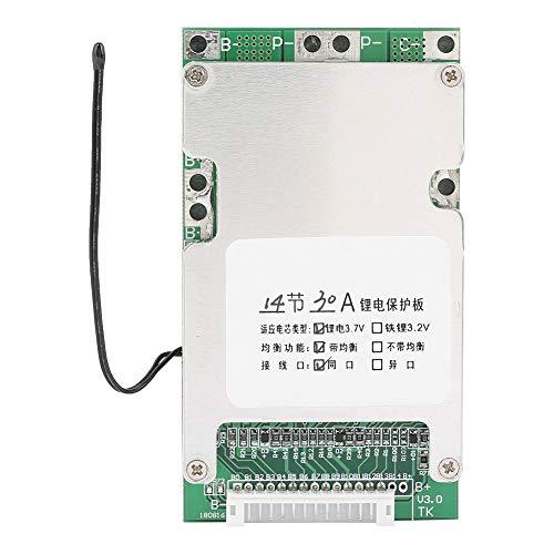 Changor Placa de protección de la batería de litio inteligente, aluminio reforzado con aleta de aluminio, batería de litio inteligente, tarjeta PCB de aluminio.