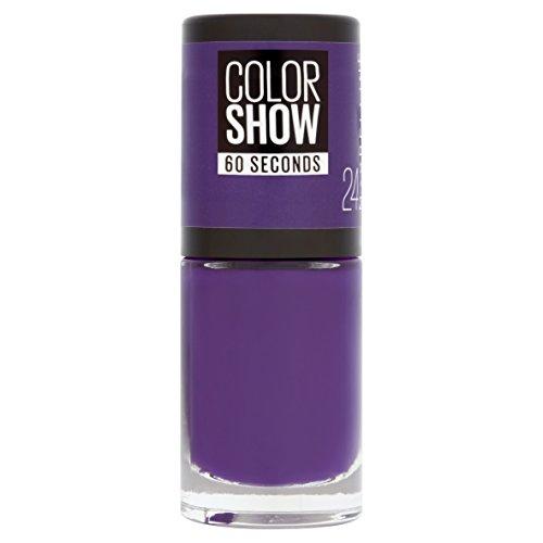 Gemey Maybelline Colorshow Nagellack 24 Very Violett/kräftiges Violett