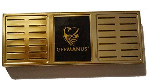 GERMANUS Premium Humidor Befeuchter XL Gold inkl. Magnet Halterung und Anleitung