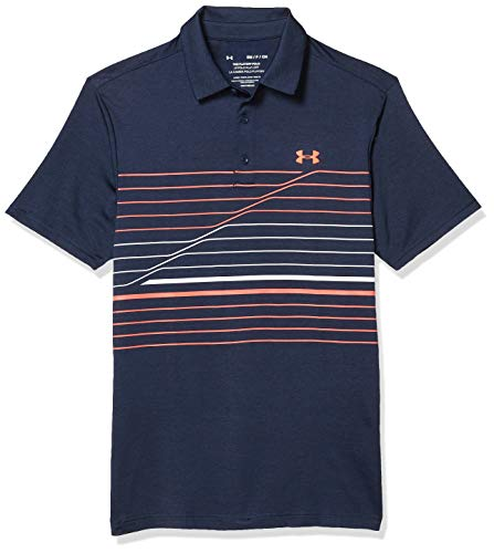 Under Armour Herren Playoff 2.0 Poloshirt, Academy (417)/Beta, X-Large