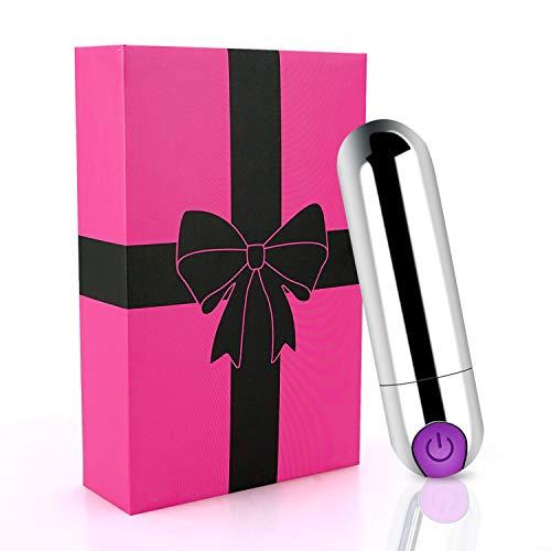 Mini Vibratoren für sie Klitoris und G-punkt, Bullet Vibratoren Klein Stimulator Penis Dildo Sexspielzeug mit für Frauen Männer Paare extrem Orgasmus Erotik