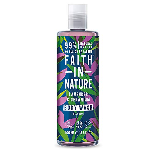 1. Faith in Nature Gel de Baño Natural