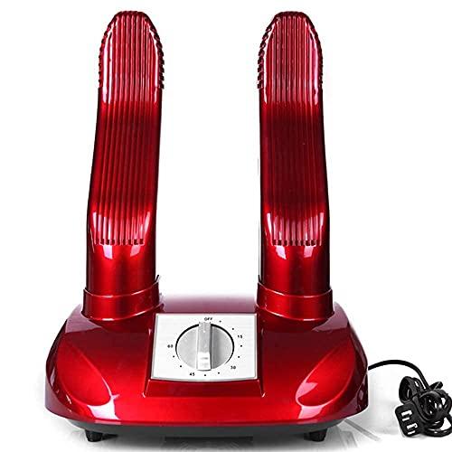JIEZ Secador de Zapatos eléctrico Calentador de Botas, Calentador de pie de esquí, Guantes portátiles Calcetines Secado de Calzado, con Temporizador Desodorante para prevenir el ozono