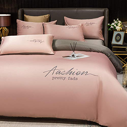 Cactuso Duvet Cover And Pillowcase,Four-Piece Ice Silk Is Used For Bedding
