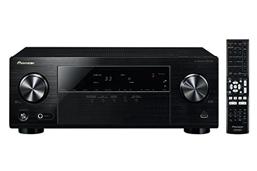 Pioneer VSX-329K - Receptor A/V (4K pass through, USB frontal, radio AM/FM), negro
