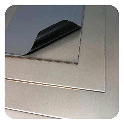 Edelstahlplatte V4A Blech Platten Zuschnitte 1mm bis 3mm nach Auswahl
