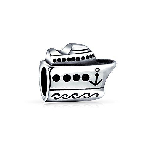 Kreuzfahrtschiff Reise Yacht Boot Kapitän Urlaub Perle Charme Für Frauen Für Teen 925 Sterling Silber Passt Europäische Armband
