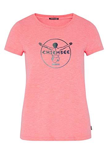 Chiemsee Damen T-Shirt, Neon Pink, M