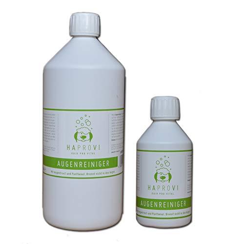 HAPROVI Augenreiniger für Hunde und Katzen mit Augentrost (Euphrasia) 250 ml