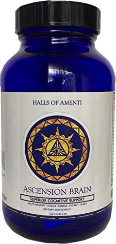 Halls of Amenti - Ascension Brain - Nootropic Supplement (50 Capsules)