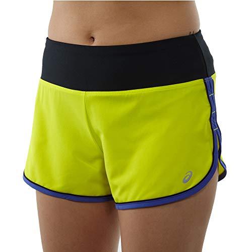 ASICS Pantalones Cortos Everysport para Mujer, Mujer, WS2798, Verde azufre, L