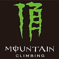 MOUNTAIN CLIMBING・頂【登山・アウトドア】パロディーステッカー